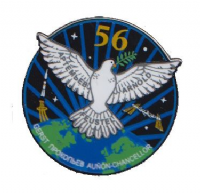 OFFICIAL NASA ISS 56 SPACE STATION PIN